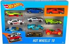HOT WHEELS 10 CAR PK