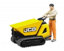 JCB MICRO DUMPSTER W/ FIGURE