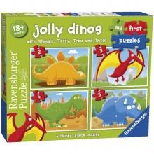 JOLLY DINOS 2,3,4 & 5 PCS