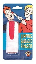 JUMPING BANDAGED FINGER