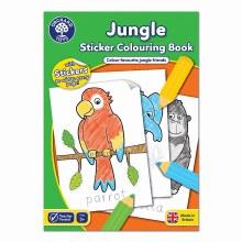 JUNGLE STICKER COL BOOK