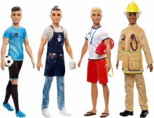 KEN CAREER DOLL ASST