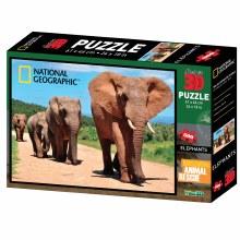 KILMANJARO ELEPHANTS 3D 500PC