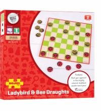 LADYBIRD & BEE DRAUGHTS