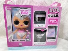 LOL SURPRISE BIG BB KITTY QUEE