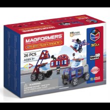 MAGFORMERS POLICE & RESCUE SET