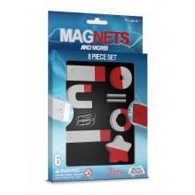 MAGNETS & MORE 8PCS MAGNET SET