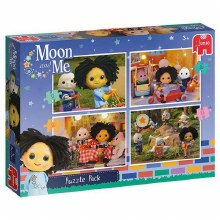 MOON & ME 4 IN 1 PUZZLES