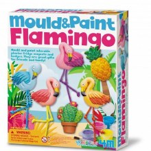 MOULD AND PAINT FLAMINGO