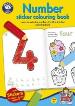 NUMBER  STICKER COL BOOK