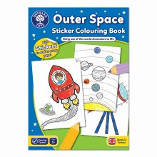 OUTER SPACE STICKER COL BOOK