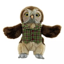 OWL DRESSED PUPPET
