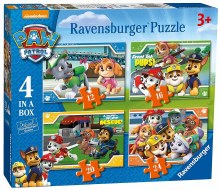PAW PATROL 4 IN A BOX -  YELP