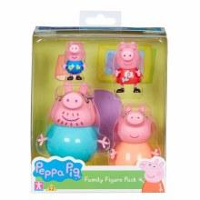 PEPPA  FAMILY FIGURE 4PK