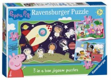 PEPPA PIG 3 IN A BOX