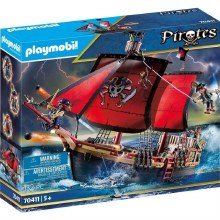 PIRATE SHIP FLOATING