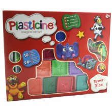 PLASTICINE TOWER BLOX