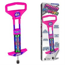 POGO STICK LIGHT UP PINK