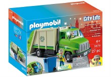 RECYCLING TRUCK CITY ACTION