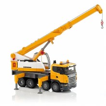 SCANIA TRUCK WITH CRANE