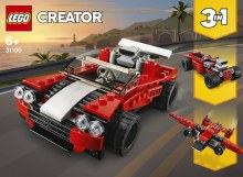 SPORTS CAR LEGO CREATOR