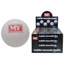 TABLE TENNIS BALLS 6 PK MY