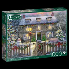 THE CHRISTMAS COTTAGE 1000 PCE