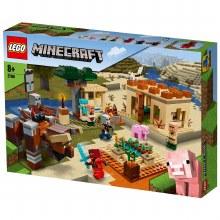 THE ILLAGER RAID LEGO MINECRAF