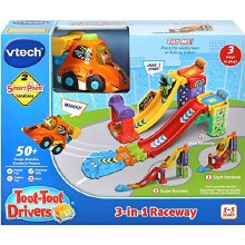 TOOT TOOT DRIVERS 3IN1 RACEWAY
