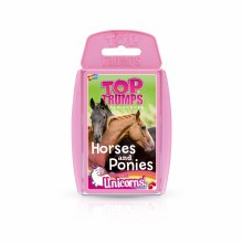 TOP TRUMPS HORSES PONIES UNICO