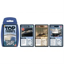 TOP TRUMPS WORLD FAMOUS SHIPS