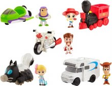TOY STORY 4 MINI FIG & VEHICLE