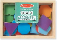 WOODEN SHAPE MAGNETS