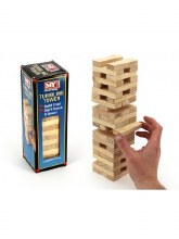 WOODEN TUMBLING TOWER MY