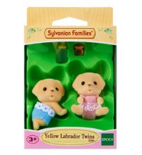 YELLOW LABRADOR TWINS SET