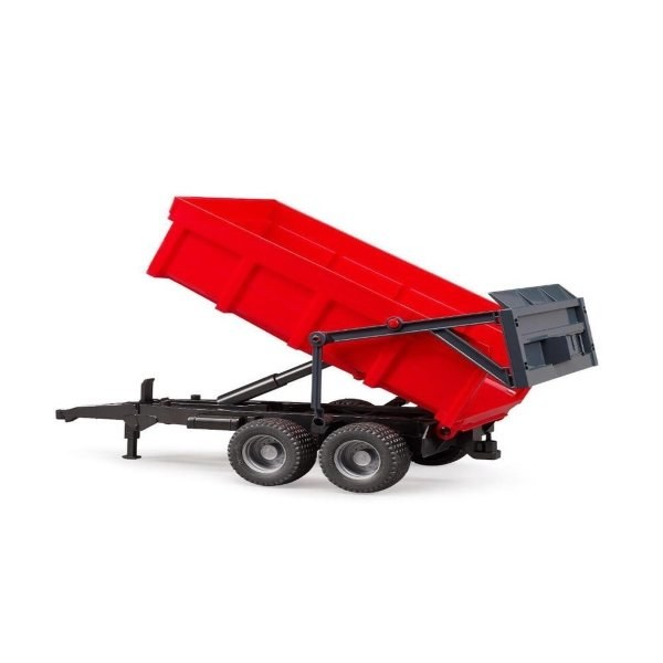 TIPPING TRAILER RED