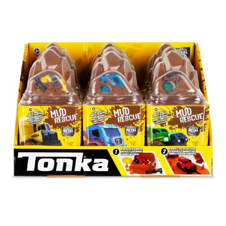 TONKA METAL MOVERS MUD RESCUE
