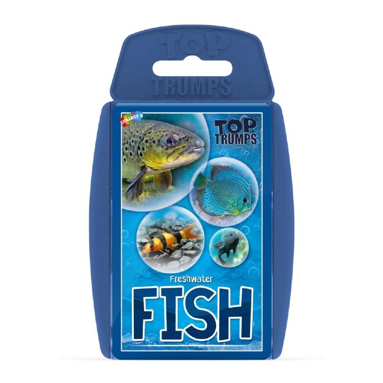 TOP TRUMPS FRESHWATER FISH