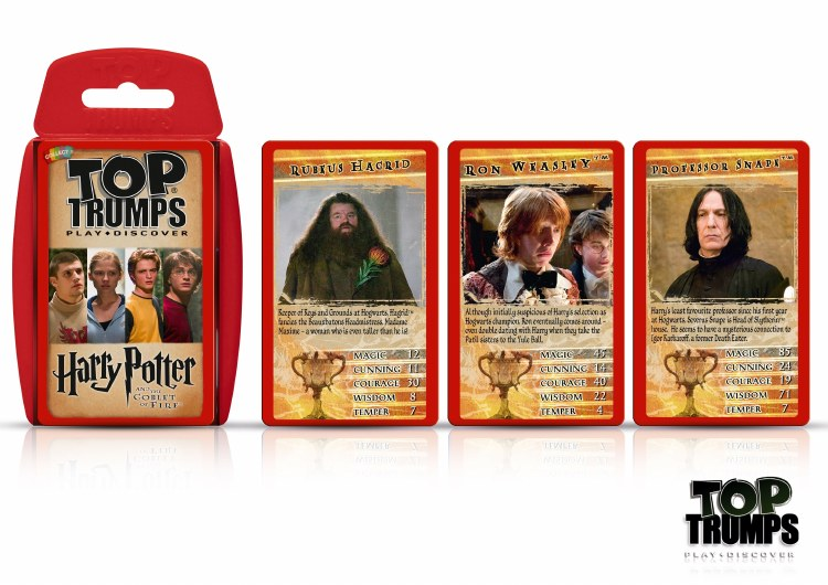TOP TRUMPS HP GOBLET OF FIRE