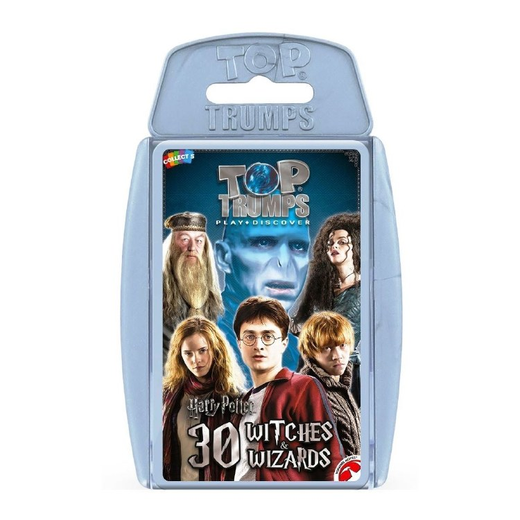 TOP TRUMPS HP WITCHES & WIZARD