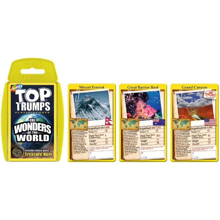 TOP TRUMPS WONDERS OF WORLD