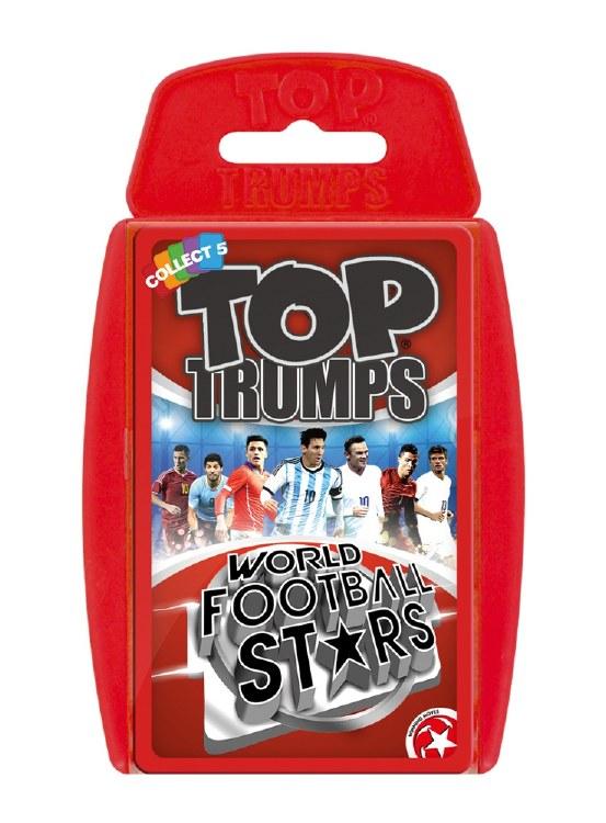 TOP TRUMPS WORLD FOOTBALL STAR