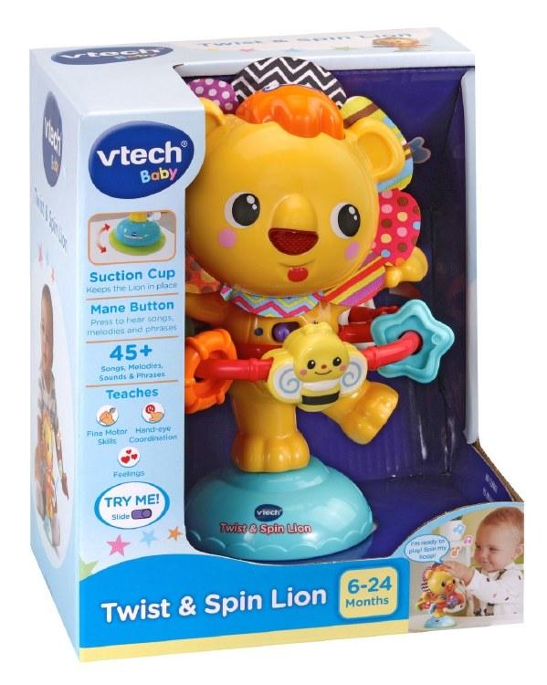 TWIST & SPIN LION