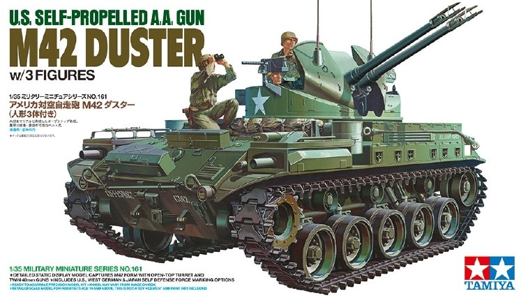 US M42 DUSTER W/3 FIGURES