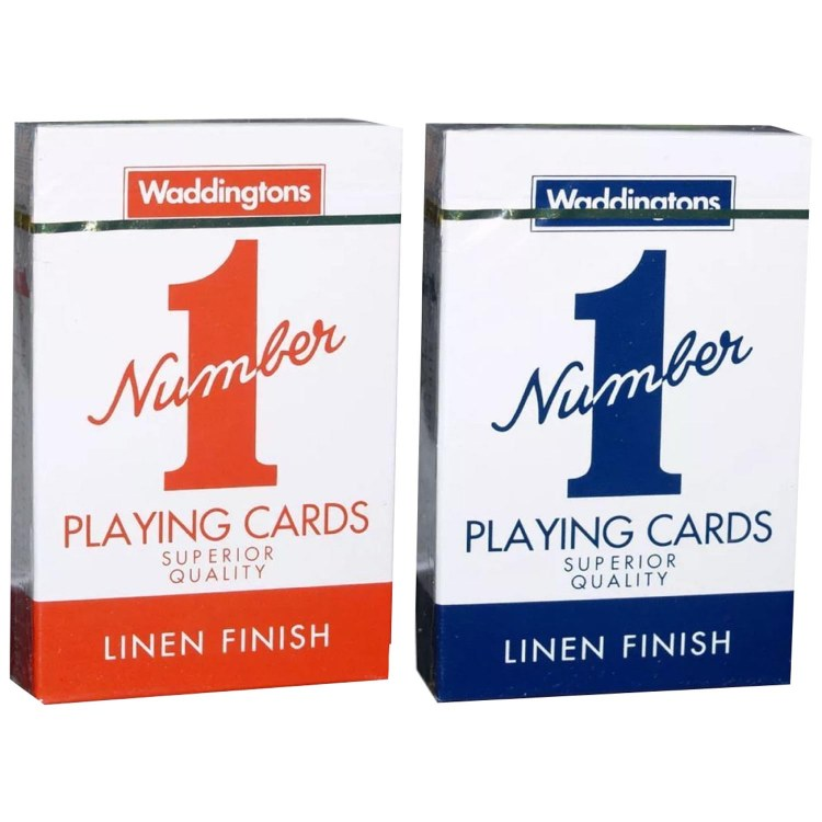WADDINGTONS CARDS