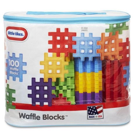 WAFFLE BLOCKS 100PC BAG