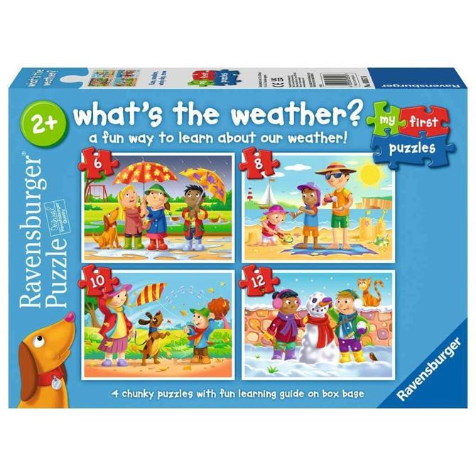 WHAT IS THE WEATHER 4 PUZZLES