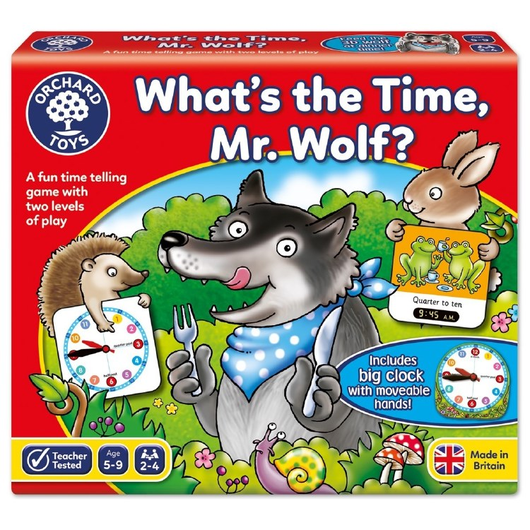 WHAT TIME IS IT MR WOLF