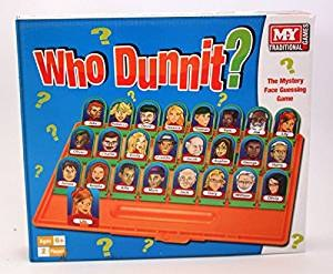WHO DUNNIT GAME