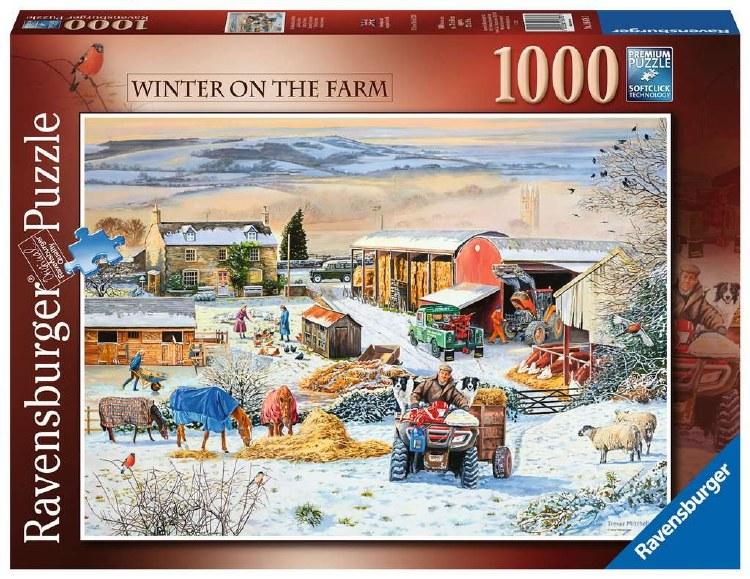 WINTER ON THE FARM 1000 PCE